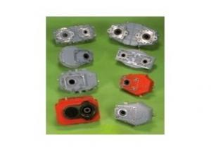Speed-up splitter gearboxes